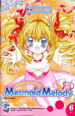 Copertina MERMAID MELODY (m7) n.6 - PRINCIPESSE SIRENE, GP PUBLISHING