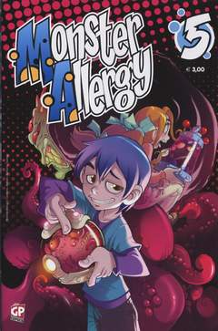 Copertina MONSTER ALLERGY n.5 - MONSTER ALLERGY, GP PUBLISHING