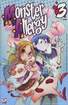 Copertina MONSTER ALLERGY n.3 - MONSTER ALLERGY, GP PUBLISHING