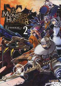 Copertina MONSTER HUNTER EPISODE (m3) n.2 - MONSTER HUNTER EPISODE, GP PUBLISHING