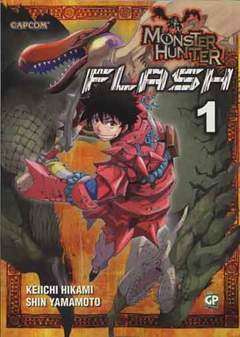 Copertina MONSTER HUNTER FLASH (m10) n.1 - MONSTER HUNTER FLASH, GP PUBLISHING