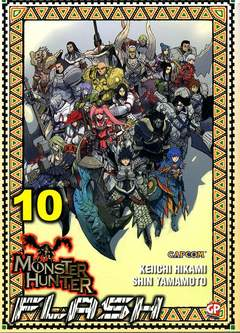 Copertina MONSTER HUNTER FLASH (m10) n.10 - MONSTER HUNTER FLASH, GP PUBLISHING