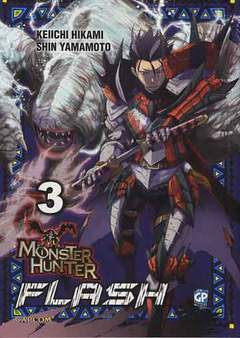 Copertina MONSTER HUNTER FLASH (m10) n.3 - MONSTER HUNTER FLASH, GP PUBLISHING
