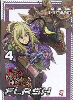 Copertina MONSTER HUNTER FLASH (m10) n.4 - MONSTER HUNTER FLASH, GP PUBLISHING