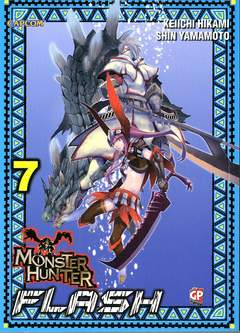 Copertina MONSTER HUNTER FLASH (m10) n.7 - MONSTER HUNTER FLASH, GP PUBLISHING