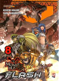 Copertina MONSTER HUNTER FLASH (m10) n.8 - MONSTER HUNTER FLASH, GP PUBLISHING