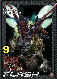 Copertina MONSTER HUNTER FLASH (m10) n.9 - MONSTER HUNTER FLASH, GP PUBLISHING