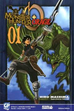 Copertina MONSTER HUNTER ORAGE n.1 - MONSTER HUNTER ORAGE, GP PUBLISHING