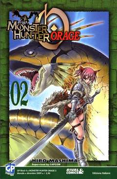 Copertina MONSTER HUNTER ORAGE n.2 - MONSTER HUNTER ORAGE, GP PUBLISHING
