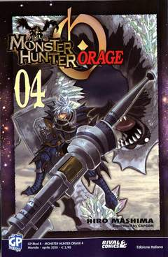 Copertina MONSTER HUNTER ORAGE n.4 - MONSTER HUNTER ORAGE, GP PUBLISHING