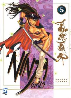 Copertina NINJA GIRLS (m9) n.5 - NINJA GIRLS, GP PUBLISHING