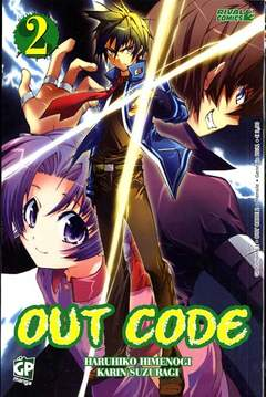 Copertina OUT CODE (m3) n.2 - GP FICTION, GP PUBLISHING