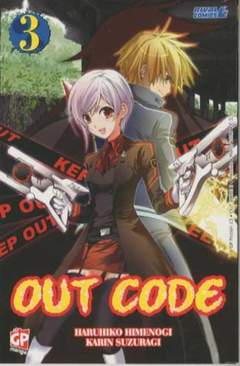 Copertina OUT CODE (m3) n.3 - GP FICTION, GP PUBLISHING