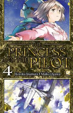 Copertina PRINCESS AND THE PILOT (m4) n.4 - THE PRINCESS AND THE PILOT, GP PUBLISHING