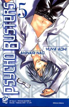 Copertina PSYCHO BUSTERS (m7) n.5 - GP HERO, GP PUBLISHING