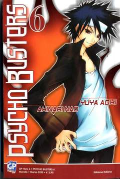 Copertina PSYCHO BUSTERS (m7) n.6 - GP HERO 6, GP PUBLISHING