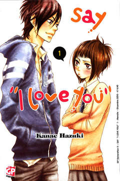Copertina SAY I LOVE YOU n.1 - GP GENERATION, GP PUBLISHING
