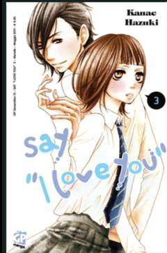 Copertina SAY I LOVE YOU n.3 - GP GENERATION, GP PUBLISHING