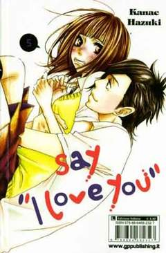 Copertina SAY I LOVE YOU n.5 - GP GENERATION, GP PUBLISHING