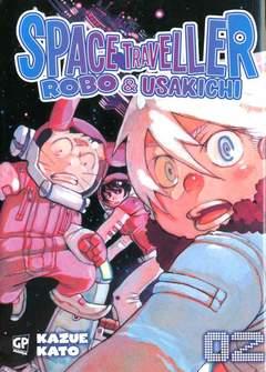 Copertina SPACE TRAVELLER ROBO &...(m5) n.2 - SPACE TRAVELLER - ROBO & USAKICHI, GP PUBLISHING