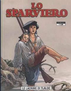 Copertina SPARVIERO (m3) n.3 - LE LACRIME DI TLALOC, GP PUBLISHING