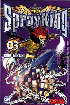 Copertina SPRAY KING (m4) n.3 - GP MANGA, GP PUBLISHING