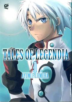 Copertina TALES OF LEGENDIA (m6) n.1 - TALES OF LEGENDIA, GP PUBLISHING