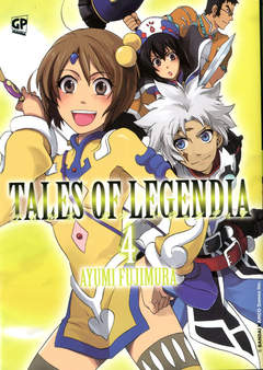 Copertina TALES OF LEGENDIA (m6) n.4 - TALES OF LEGENDIA, GP PUBLISHING