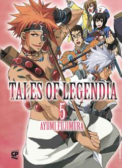 Copertina TALES OF LEGENDIA (m6) n.5 - TALES OF LEGENDIA, GP PUBLISHING