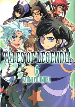 Copertina TALES OF LEGENDIA (m6) n.6 - TALES OF LEGENDIA, GP PUBLISHING