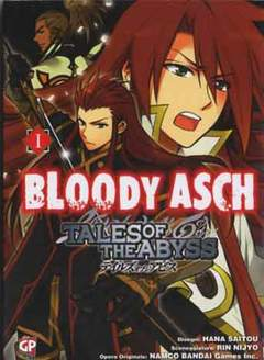 Copertina TALES OF THE ABYSS n.3 - BLOODY ASCH 1 (m2), GP PUBLISHING