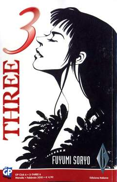 Copertina 3 THREE n.6 - 3 THREE, GP PUBLISHING