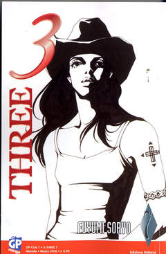 Copertina 3 THREE n.7 - 3 THREE, GP PUBLISHING