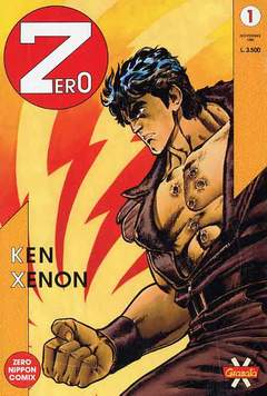 Copertina ZERO n.1 - ZERO                         1, GRANATA PRESS
