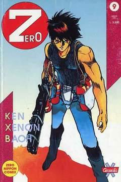 Copertina ZERO n.9 - ZERO                         9, GRANATA PRESS