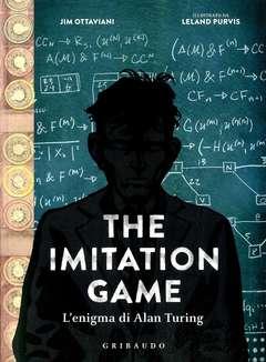 Copertina IMITATION GAME n. - L'ENIGMA DI ALAN TURING, GRIBAUDO