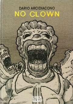 Copertina NO CLOWN n. - NO CLOWN, GRRRZ COMIC ART BOOK