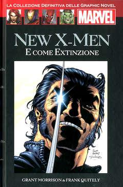 Copertina MARVEL GRAPHIC NOVEL n.35 - NEW X-MEN E COME EXTINZIONE, HACHETTE