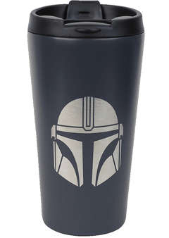 Copertina BICCHIERE HALF MOON BAY n.3 - STAR WARS: THE MANDALORIAN - TRAVEL MUG METAL, HALF MOON BAY