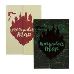 Copertina NOTEBOOK HALF MOON BAY n.5 - HARRY POTTER A5 - HARRY POTTER (MARAUDERS MAP), HALF MOON BAY