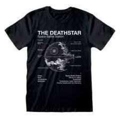 Copertina T-SHIRT n.171 - STAR WARS - DEATH STAR SKETCH M, HEROES INC