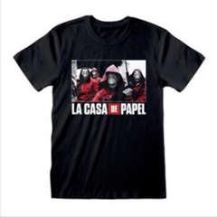 Copertina T-SHIRT n.87 - LA CASA DI CARTA - PHOTO AND LOGO L, HEROES INC