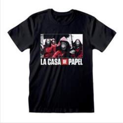 Copertina T-SHIRT n.88 - LA CASA DI CARTA - PHOTO AND LOGO M, HEROES INC