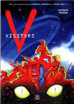Copertina V - VISITORS n. - V - VISITORS (LA SAGA MANGA), HIKARI