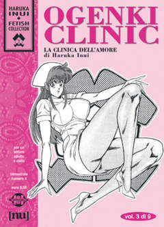 Copertina Haruka Inui Fetish Collection n.4 - Ogenki Clinic (vol. 3 di 9), HUNTER EDITORE