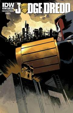 Copertina JUDGE DREDD n.12 - Into the Cursed Earth - Chapters 10-12, IDW