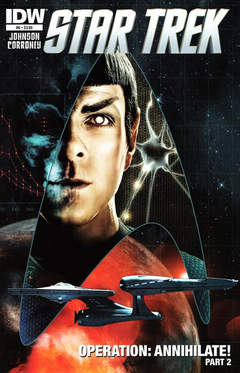 Copertina STAR TREK ONGOING n.6 - Operation: Annihilate, Part 2, IDW