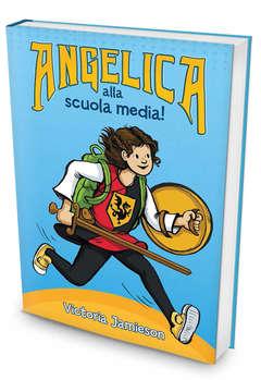 Copertina ANGELICA n. - ANGELICA ALLA SCUOLA MEDIA, IL CASTORO