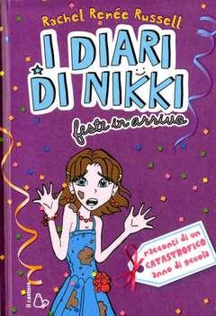 Copertina DIARI DI NIKKI n.2 - FESTE IN ARRIVO, IL CASTORO