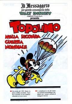 Copertina TOPOLINO SUPPLEM. MESSAGGERO n.54 - TOPOLINO SUPPLEM. MESSAGG   54, IL MESSAGGERO